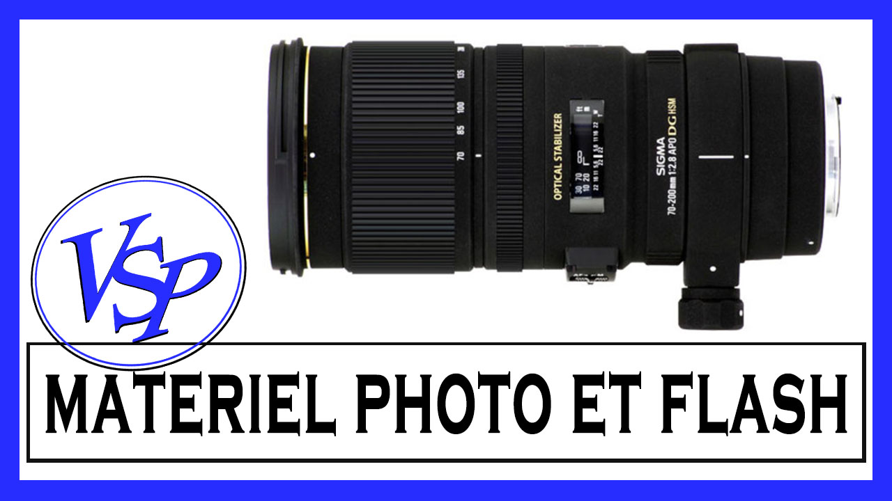 Matériel photo et flash sigma nikon
