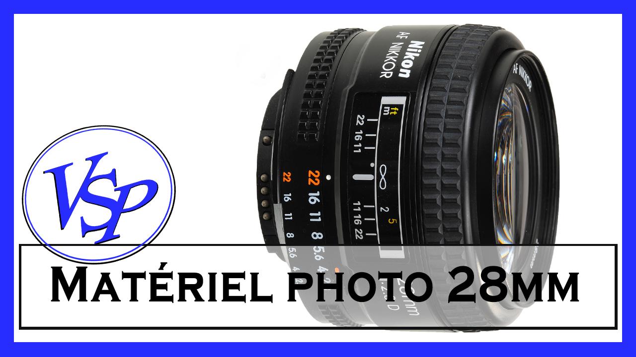 L Objectif 28mm Nikon