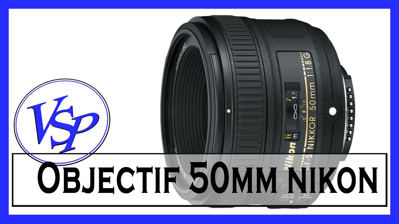 50 mm Nikon matériel photo