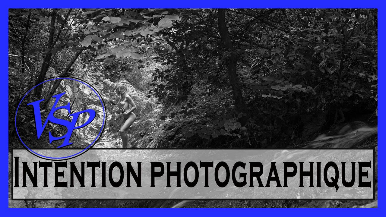 Intention photographique Portait