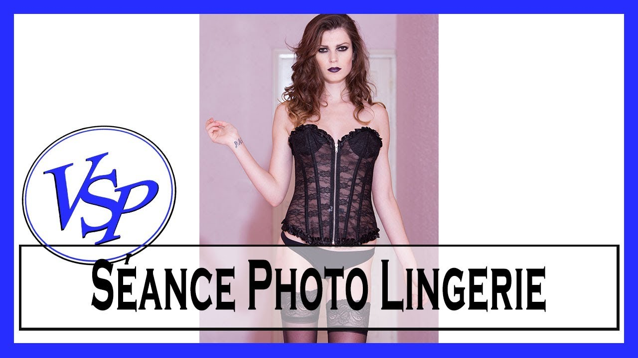 séance photo lingerie